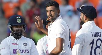 Rohit hails Ashwin, Axar after routing England