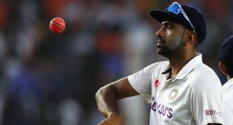 Talk about the pitch getting out of hand, says Ashwin