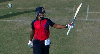 Vijay Hazare: Dhawan blasts ton to lift Delhi to win