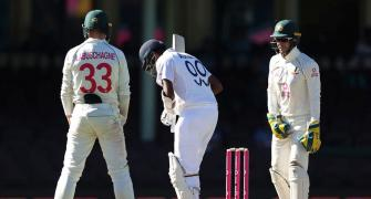 'Petty Australia overstepped the mark in Sydney Test'