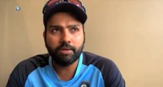 How Rohit prepared for Aus bowling while in quarantine