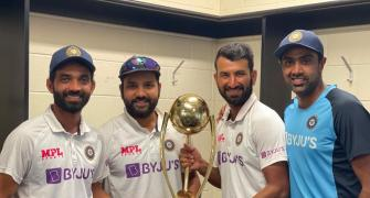What Captain Rahane said after breaching 'Gabbatoir'