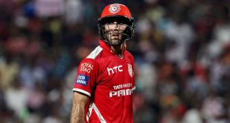 KXIP release Maxwell, Cottrell ahead of IPL auction