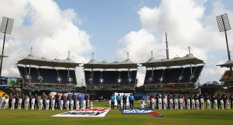 Chennai Tests to be played behind closed doors
