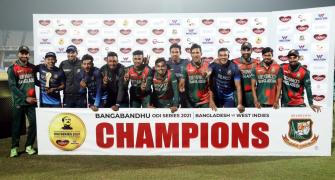 3rd ODI: Bangladesh outplay WI to sweep series 3-0