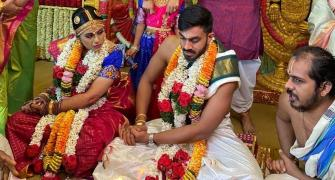 All-rounder Vijay Shankar ties the knot