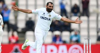 Sensational Shami Saves the Day for India