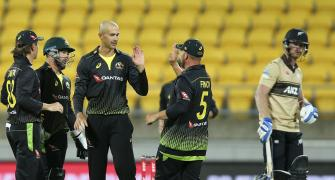 Agar scalps six as Australia keep T20 series alive