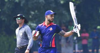 Vijay Hazare: Delhi down Uttarakhand to make quarters