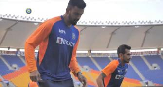 SEE: Team India sweat it out in the nets