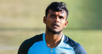 Injured Natarajan doubtful for England T20Is