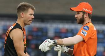 SRH sack Warner as captain, Williamson takes charge