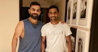 Easwaran reveals how Kohli and Rohit practice