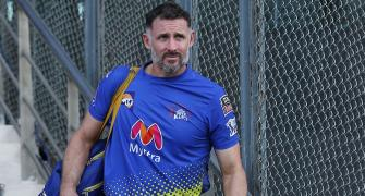 Finally, CSK batting coach Hussey leaves for home