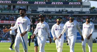 SEE: Unseen visuals from dressing room after Oval win
