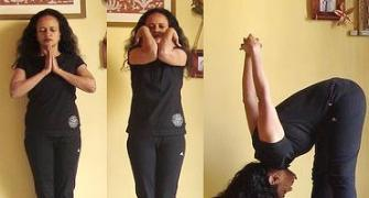Yoga poses to develop the heart chakra