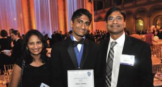 Guess what? America's top teen scientist is INDIAN!