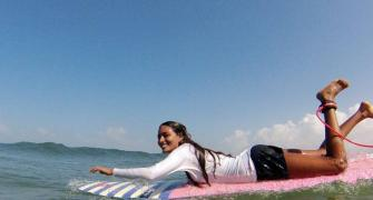 Meet India's first professional female surfer