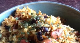 Quick fix recipe: How to make Red and Black Bean Rice