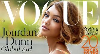 The first black model on Vogue cover in 12 years!