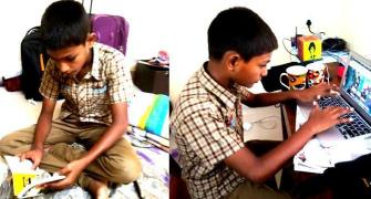 At 13, Aman Singh is a change-maker
