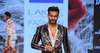 Karan Tacker wears flowers and gets it right too!