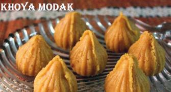 Ganpati recipe: How to make Khoya Modak
