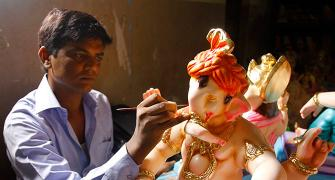 'I want to make Lord Ganesh happy'