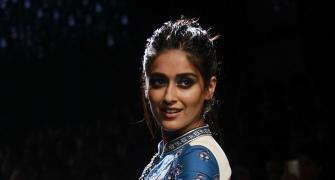 Ileana gives us the blues!