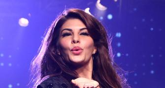 In pics: Jacqueline reveals a new hair story