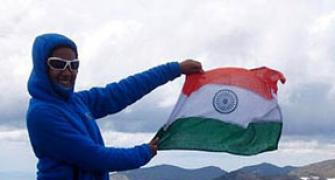 The Indian teen scaling the world's highest peaks