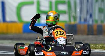 Just 17, he could become India's F1 sensation
