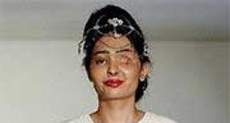 The acid attack survivor who walked the ramp in New York