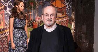 A Salman Rushdie novel in clothes!