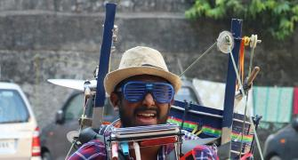 MUST WATCH: The magical one-man band