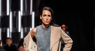 The first gender neutral model to walk for LFW