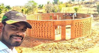 His dream is to build schools in India's remotest villages