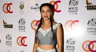 In Pics: When Gauahar wore her hair in plaits!