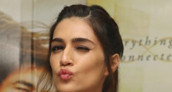 Tempting pics: Kriti turns chocolatier