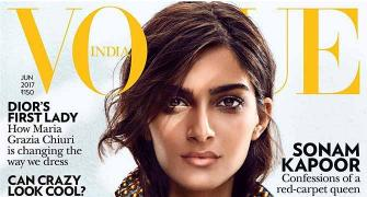 Sonam glams up Vogue's anniversary cover