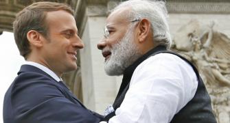 India is having a very French moment