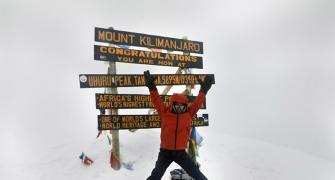 At 7, the youngest to scale Kilimanjaro