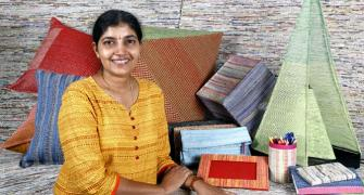 A weaver's daughter's zero-waste idea to save Planet Earth
