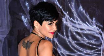 Photos! Did you see Mandira Bedi's saucy backless look