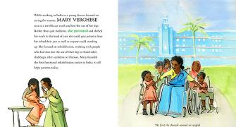 Chelsea Clinton: How Mary Varghese changed India
