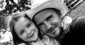 David Beckham's adorable post for his 'little princess'