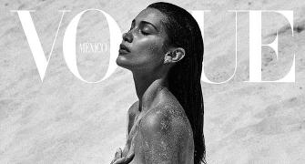 Bella Hadid flaunts enviable curves as she strips for mag cover