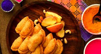Holi recipes: Mawa Apple Gujiya, Rajasthani Korma and more