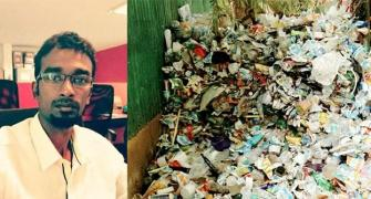 Trash to cash: The Indian chef who is recycling waste