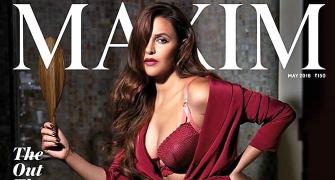 Undeniably sexy: Neha Dhupia's steamy cover will make you gasp